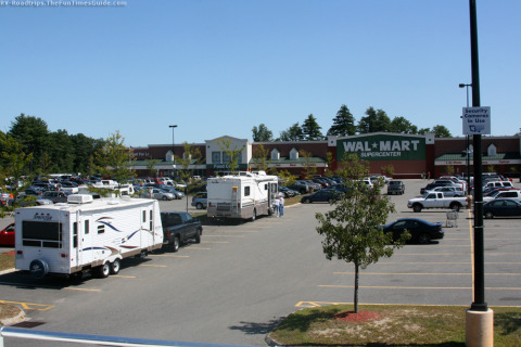 full,time,rving,drycamping,walmart,parking,park rv,overnight stay,free parking