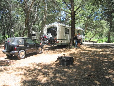 William Heise, San Diego County Parks,camping